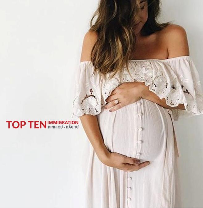 Mang thai và sinh con ở Úc, con có được vào quốc tịch Úc?