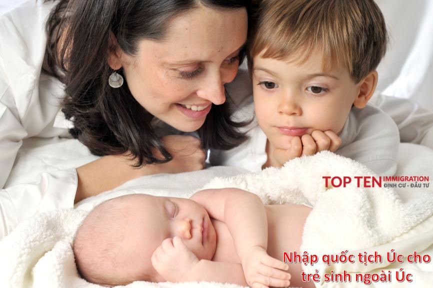 Thường trú nhân sinh con ngoài Úc có được nhập quốc tịch Úc? - TTI